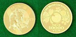 2002 FIFAワールドカップ記念 1万円金貨幣