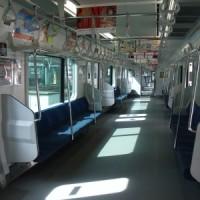 電車車内風景