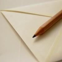 手紙と鉛筆