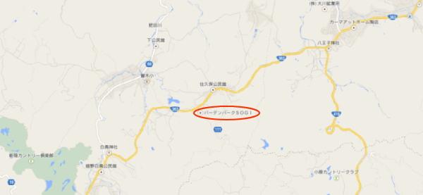 バードンパークSOGI地図