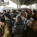 新幹線ラッシュ時