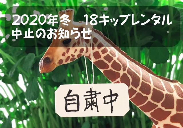 18きっぷレンタル中止